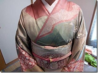 卒園式にピッタリの出張ヘアセットと着物着付を (3)