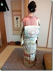 卒園式にピッタリの出張ヘアセットと着物着付を (4)