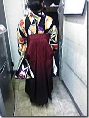 ハーツヘアーズ沼田店に袴の出張着付 (4)