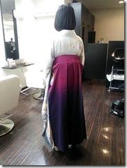 ハーツヘアーズに袴と訪問着の出張着付 (7)