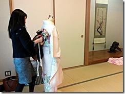 振袖着付教室と着付師の自主トレ