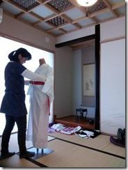 留袖の着付テスト