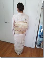 着物でお子様の入学式へ (2)