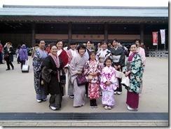 美和きもの教室で世界遺産の宮島へ (2)