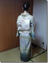 辻が花の訪問着でお子様の入学式へ (3)