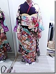 着物で三瀧荘の結婚式へ (3)
