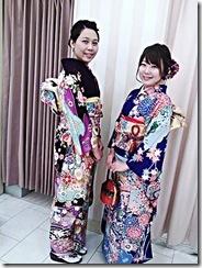 振袖で三瀧荘の結婚式へ(^o^)♪
