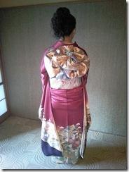 三瀧荘へご親族様の出張着付に (4)