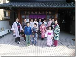 美和きもの教室で世界遺産の宮島へ (5)