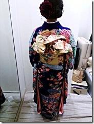 着物で三瀧荘の結婚式へ (5)