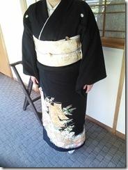 三瀧荘へご親族様の出張着付に (6)
