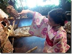 美和きもの教室で世界遺産の宮島へ (7)