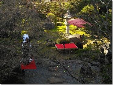 三瀧荘へご親族様の出張着付に