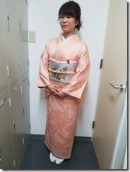 着物でオリエンタルホテルの結婚式へ(^O^)/♪