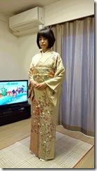 ご親戚の結婚式に着物で (2)