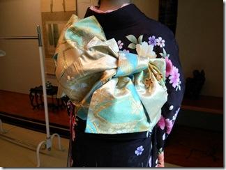 広島の鶴羽神社に出張着付 (2)
