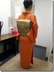 お母様の着物で入学式へ (3)