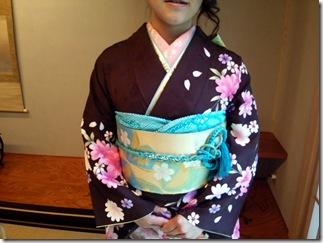 広島の鶴羽神社に出張着付 (4)