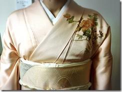 着物で結婚式に(^O^)/♪