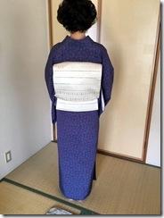 素敵なブルーの江戸小紋