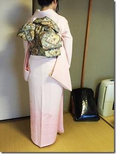 着物に素敵な変わり結びを (2)