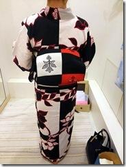 浴衣に名古屋帯で (2)