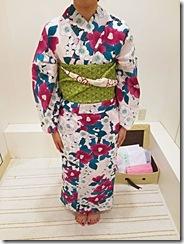 お気に入りの浴衣と帯で (2)