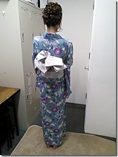 リカロヘアー美容室に浴衣の出張着付 (4)