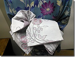 リカロヘアー美容室に浴衣の出張着付