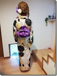 広島花火大会に浴衣の出張着付に (2)