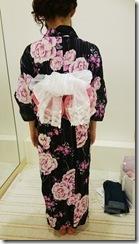 モリモリと浴衣に着付て花火大会へ (2)