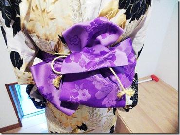 広島花火大会に浴衣の出張着付に (3)