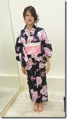 モリモリと浴衣に着付て花火大会へ (3)