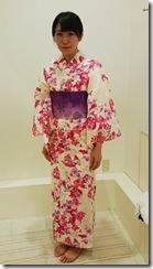 モリモリと浴衣に着付て花火大会へ (4)