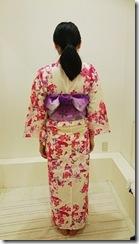 モリモリと浴衣に着付て花火大会へ (5)