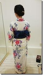 モリモリと浴衣に着付て花火大会へ (9)