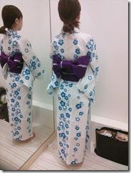 浴衣の出張着付で広島宮島の花火大会へ (10)