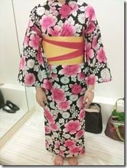 浴衣の出張着付で広島宮島の花火大会へ (11)