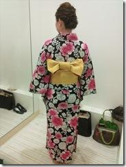 浴衣の出張着付で広島宮島の花火大会へ (13)
