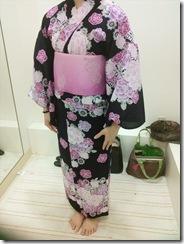 浴衣の出張着付で広島宮島の花火大会へ (14)