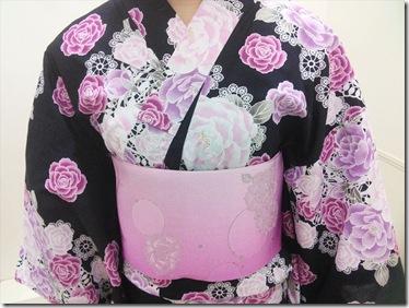 浴衣の出張着付で広島宮島の花火大会へ (15)