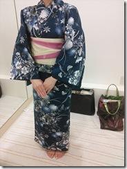 浴衣の出張着付で広島宮島の花火大会へ(^O^)/♪