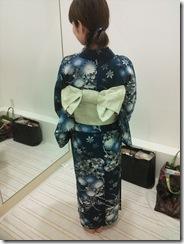 浴衣の出張着付で広島宮島の花火大会へ (4)