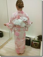 浴衣の出張着付で広島宮島の花火大会へ (5)