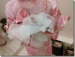浴衣の出張着付で広島宮島の花火大会へ (6)