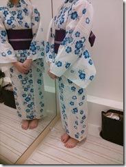 浴衣の出張着付で広島宮島の花火大会へ (9)