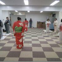 広島リビングカルチャー着物着付け教室(夜クラス)
