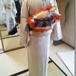 略礼装の他装着付を練習中(^O^)/♪