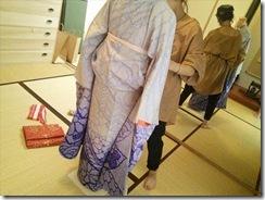 美容師さんの振袖他装着付練習 (2)
