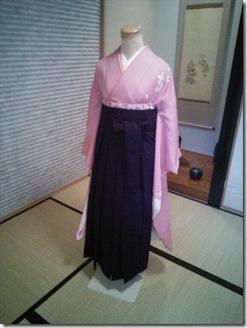 袴の他装着付練習でバッチリ (3)